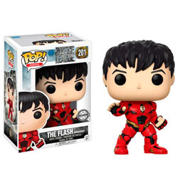FUNKO POP DC JUSTICE LEAGUE UNMASKED FLASH EXCLUSIVE