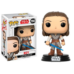 FIGURINE FUNKO POP STAR WARS EPISODE VIII REY 9 CM