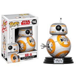 FIGURINE FUNKO POP STAR WARS EPISODE VIII BB-8 9 CM