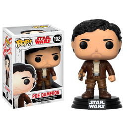 Photo du produit FUNKO POP STAR WARS EPISODE VIII POE DAMERON