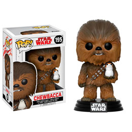 FIGURINE FUNKO POP STAR WARS EPISODE VIII CHEWBACCA & PORG
