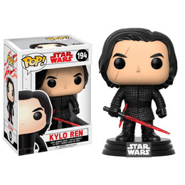 Photo du produit FIGURINE FUNKO POP STAR WARS EPISODE VIII KYLO REN 9 CM