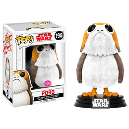 FUNKO POP STAR WARS THE LAST JEDI PORG FLOCKED EXCLUSIVE