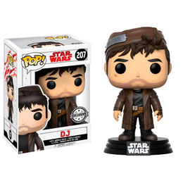 FUNKO POP STAR WARS THE LAST JEDI DJ EXCLUSIVE