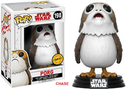 FUNKO POP STAR WARS THE LAST JEDI PORG VERSION CHASE EXCLUSIVE