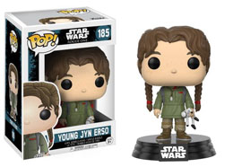 STAR WARS ROGUE ONE POP! VINYL BOBBLE HEAD YOUNG JYN ERSO