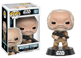 STAR WARS ROGUE ONE POP! VINYL BOBBLE HEAD WEETEEF CYUBEE