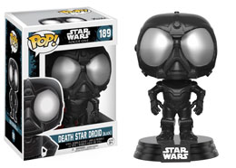 STAR WARS ROGUE ONE POP! VINYL BOBBLE HEAD DEATH STAR DROID (BLACK)