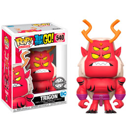 FUNKO POP! TEEN TITANS GO! TRIGON ECCC 2017 EXCLUSIVE