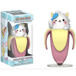 BANANYA FIGURINE COLLECTIBLE BANANYA (LONG-HAIRED)
