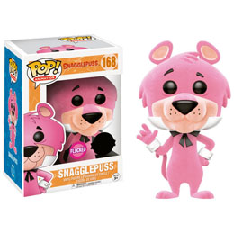 FUNKO POP HANNA BARBERA SNAGGLEPUSS FLOCKED EXCLUSIVE