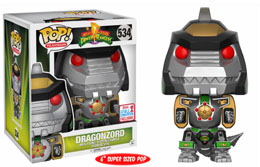 FUNKO POP POWER RANGERS DRAGONZORD NYCC 2017 EXCLUSIVE