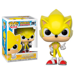 FUNKO POP SONIC SUPER SONIC EXCLUSIVE