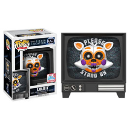 FIGURINE FUNKO POP FIVE NIGHTS AT FREDDY'S SISTER LOCATION LOLBIT FALL CONVENTION 2017 EXCLUSIVE