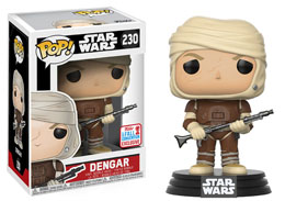 Photo du produit FUNKO POP STAR WARS: DENGAR NYCC 2017 EXCLUSIVE