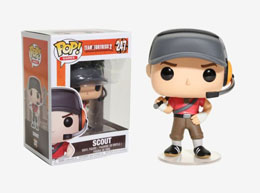 FIGURINE POP TEAM FORTRESS 2 SCOUT