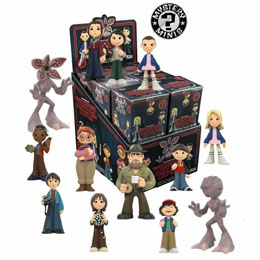 12 FIGURINES MYSTERY MINIS STRANGER THINGS + PRESENTOIR