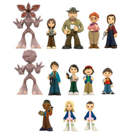 Photo du produit 12 FIGURINES MYSTERY MINIS STRANGER THINGS + PRESENTOIR Photo 1