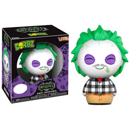 FIGURINE FUNKO DORBZ HORROR BEETLEJUICE PLAID SHIRT EXCLUSIVE