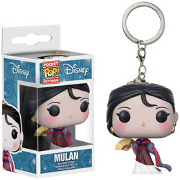 PORTE CLE POCKET POP! DISNEY PRINCESAS MULAN