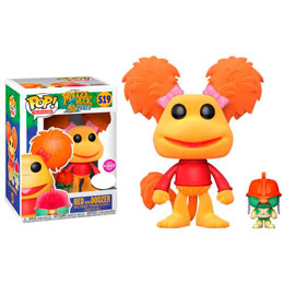 FIGURINE FUNKO POP FRAGGLE ROCK RED WITH DOOZER FLOCKED EXCLUSIVE