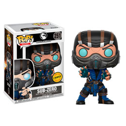 FIGURINE FUNKO POP MORTAL KOMBAT SUB-ZERO CHASE EXCLUSIVE