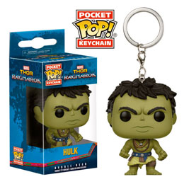 PORTE CLE POCKET POP MARVEL THOR RAGNAROK HULK