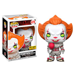 FIGURINE FUNKO POP POP IT 2017 PENNYWISE WITH BALLOON EXCLUSIVE