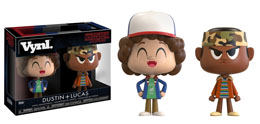 STRANGER THINGS PACK 2 VYNL FIGURINES DUSTIN & LUKAS