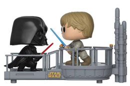 STAR WARS PACK 2 POP! MOVIE MOMENTS VINYL BOBBLE HEAD CLOUD CITY DUEL