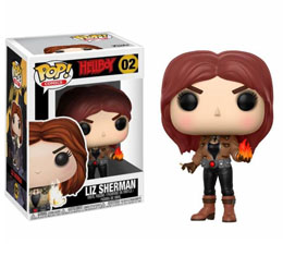 HELLBOY FIGURINE FUNKO POP LIZ SHERMAN