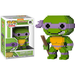 FUNKO POP LES TORTUES NINJA 8-BIT DONATELLO