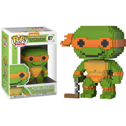 FUNKO POP LES TORTUES NINJA 8-BIT MICHELANGELO