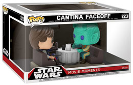 Photo du produit PACK 2 FUNKO POP STAR WARS MOVIE MOMENTS HAN SOLO & GREEDO CANTINA