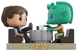 Photo du produit PACK 2 FUNKO POP STAR WARS MOVIE MOMENTS HAN SOLO & GREEDO CANTINA Photo 1