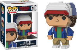 FUNKO POP! 8 BIT STRANGER THINGS DUSTIN EXCLUSIVE