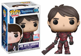 Photo du produit FUNKO POP TROLLHUNTERS: JIM RED ARMOR NYCC 2017 EXCLUSIVE