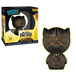 FIGURINE FUNKO DORBZ BLACK PANTHER KILLMONGER GLOW IN THE DARK