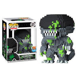FUNKO POP 8-BIT ALIEN BLOOD SPLATTER EXCLUSIVE