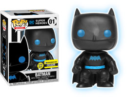 FUNKO POP! JUSTICE LEAGUE BATMAN SILHOUETTE EXCLUSIVE