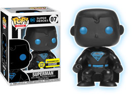 FUNKO POP! JUSTICE LEAGUE SUPERMAN SILHOUETTE EXCLUSIVE