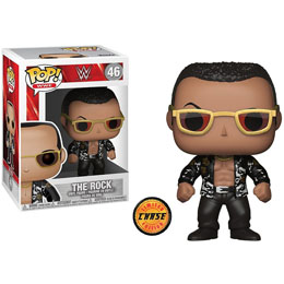 FUNKO POP WWE THE ROCK OLD SCHOOL SERIES 6 VERSION CHASE EXCLUSIVE