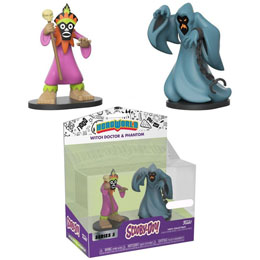 FUNKO HERO WORLD SCOOBY-DOO WITCH DOCTOR & PHANTOM EXCLUSIVE SERIES 5