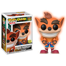 FIGURINE FUNKO POP CRASH BANDICOOT GITD