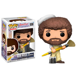 FIGURINE FUNKO POP BOB ROSS WITH PAINTBRUSH