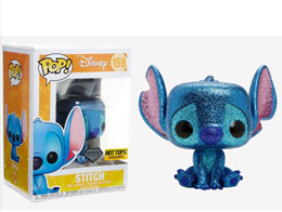 DISNEY LILO ET STITCH FUNKO POP STITCH SEATED (DIAMOND GLITTER)