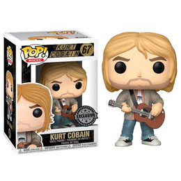 FUNKO POP KURT COBAIN MTV UNPLUGGED EXCLUSIVE