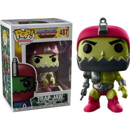 FUNKO POP MASTER OF THE UNIVERSE TRAP JAW METALLIC EXCLUSIVE