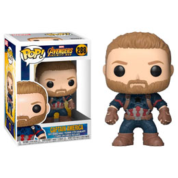 AVENGERS INFINITY WAR POP! MOVIES VINYL FIGURINE CAPTAIN AMERICA