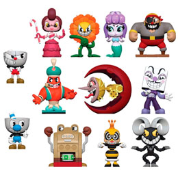 MYSTERY MINI CUPHEAD 12 FIGURINES + PRESENTOIR